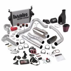 Banks 6.0 Big Hoss Bundle, Complete Power System with Single Exhaust, Black or Chrome Tip 2003-2004 CCLB or ECLB