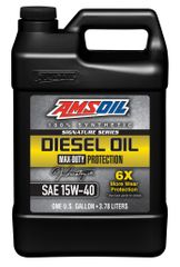 AMSOIL Signature Series Max-Duty Synthetic Diesel Oil 15W-40 (DME)