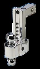 "FASTWAY FLASH™ Adjustable Locking Ball Mount (ALBM) 4"" Drop with 2.0"" Receiver"