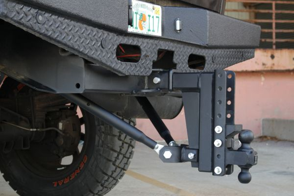 Bullet Proof Hitches Frame Mounted Hitch Stabilizer Bars