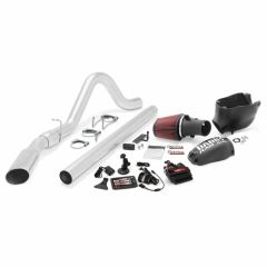 Banks 6.4 Six-Gun Bundle, Power System with Single Exit Exhaust Chrome or Black Tip for ECSB-CCSB 2008-2010