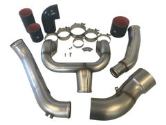 Midwest Diesel 2015 Style 6.7 Power Stroke Stainless Intake Piping