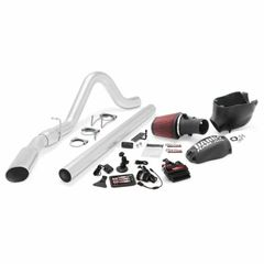 Banks 6.4 Six-Gun Bundle, Power System with Single Exit Exhaust, Chrome OR Black Tip for use with ALL wheelbase 2008-2010