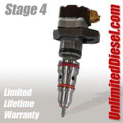 Powerstroke Fuel Injectors - Stage 4 by Unlimited Diesel