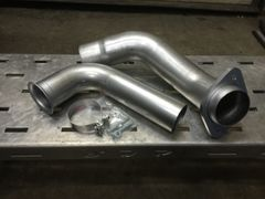SDP 6.4 S300 Single Turbo Down Pipe