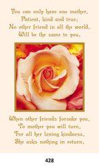 Single Memorial Card 428