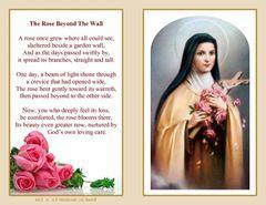 Folder Memorial Card M12