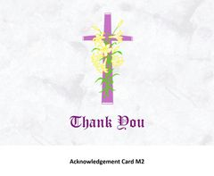 Acknowledgement Card M2