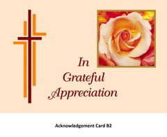 Acknowledgement Card B2