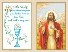 Folder Memorial Card M2