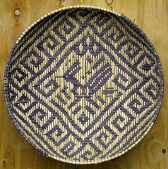 Hand Woven Hopi Roadrunner Sifter by Dorleen Gashweseoma