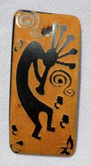 Horn Kokopelli Pendant