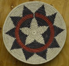 Hand Woven Navajo Coil Wedding Basket