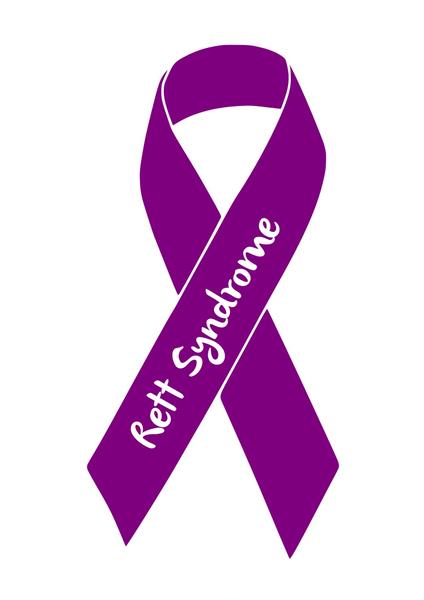 rett syndrome awareness ribbon wooster s designs