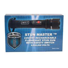 STUN MASTER® COVERT STUN GUN FLASHLIGHT