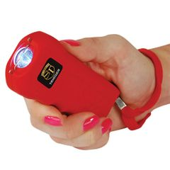 THE RECHARGEABLE 18 MILLION VOLT TRIGGER STUN GUN TRIGGER-RED
