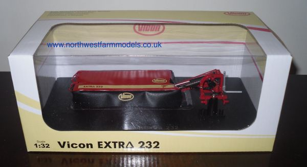 UH4286 Universal Hobbies 1/32 Scale Vicon Extra 232 Mounted Disc Mower