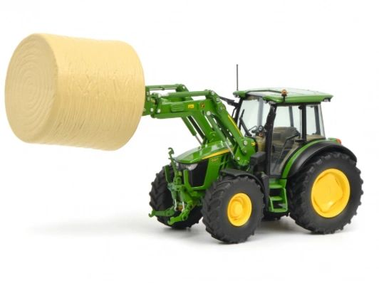 SCHUCO 1:32 SCALE JOHN DEERE 5125R WITH LOADER