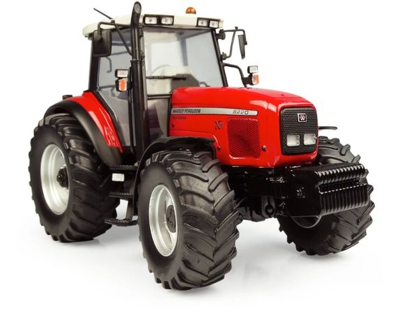UNIVERSAL HOBBIES 5331 1:32 SCALE MASSEY FERGUSON 8220 XTRA (1999) *OUT NOW*