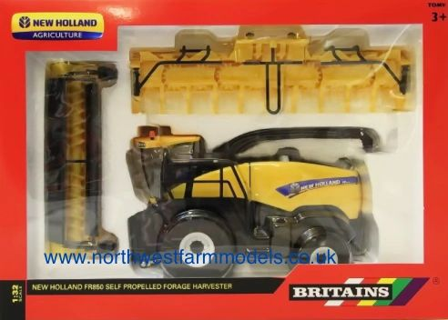 43009 Britains Farm 1/32 New Holland FR850 Self Propelled Forage Harvester