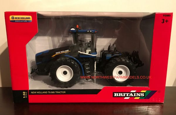 BRITAINS FARM 1/32 SCALE NEW HOLLAND T9.565 ARTICULATED TRACTOR
