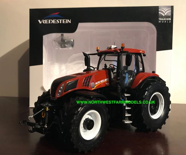"MARGE MODELS 1:32 SCALE NEW HOLLAND T8.435 ""TERRACOTTA"" VREDESTEIN EDITION **NEW**"