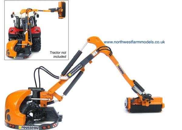 UH4281 1/32 Universal Hobbies Rousseau Kastor 500 PA Boom Mower/Hedge Cutter