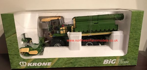 ROS 1/32 SCALE KRONE BiG M 500 MOWER (DEALER BOX)