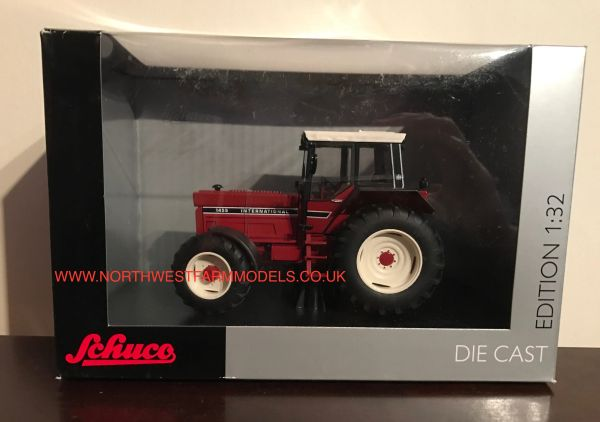 "SCHUCO 1/32 SCALE INTERNATIONAL 1455 4WD ""COCKPIT"" LIMITED EDITION TRACTOR"