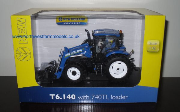 UH4232 Universal Hobbies 1/32 New Holland T6.140 With 740TL Loader