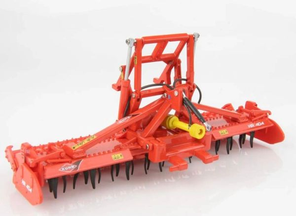 REPLICAGRI 1:32 SCALE KUHN HR404 POWER HARROW (BOXED)