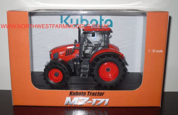 UH4926 UNIVERSAL HOBBIES 1/32 SCALE KUBOTA M7-171 MODEL TRACTOR (DEALER BOX)
