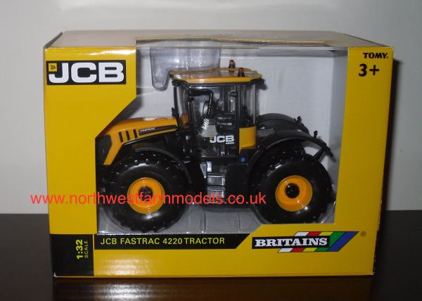 43124A1 Britains Farm 1/32 JCB Fastrac 4220 Model Tractor