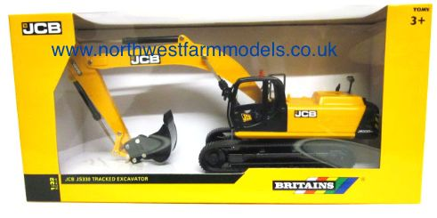 43044 Britains Farm JCB JS330LC Tracked Excavator
