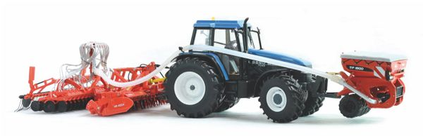 REPLICAGRI 1:32 SCALE KUHN BTF4000 WITH KUHN HR40AND TF1500 DRILL SET