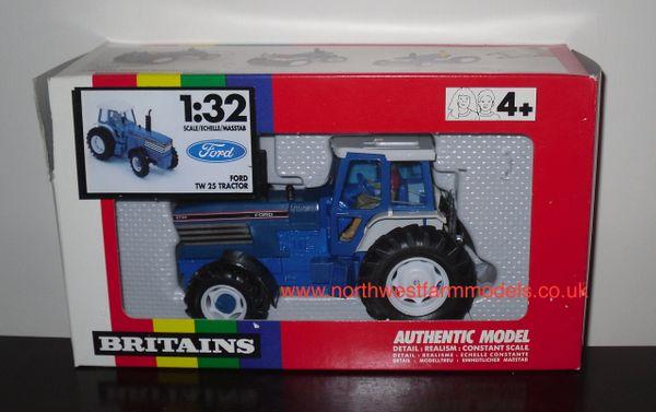 BRITAINS FARM 1/32 SCALE 9508 FORD 8730 POWERSHIFT (RAINBOW BOX) *OBSOLETE*