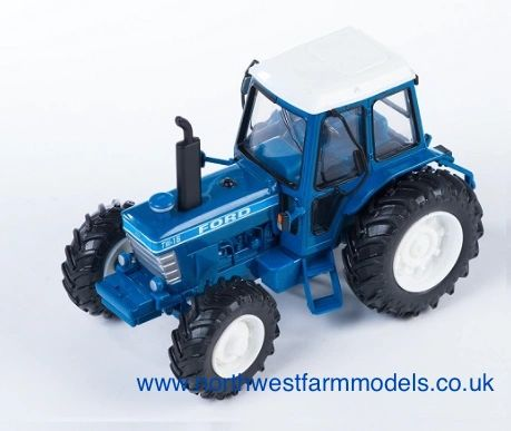 43010 Britains Farm Ford Tw15 Model Tractor