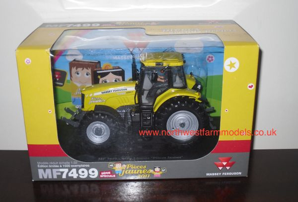 UNIVERSAL HOBBIES 1/32 SCALE MASSEY FERGUSON 7499 LIMITED EDITION (YELLOW)
