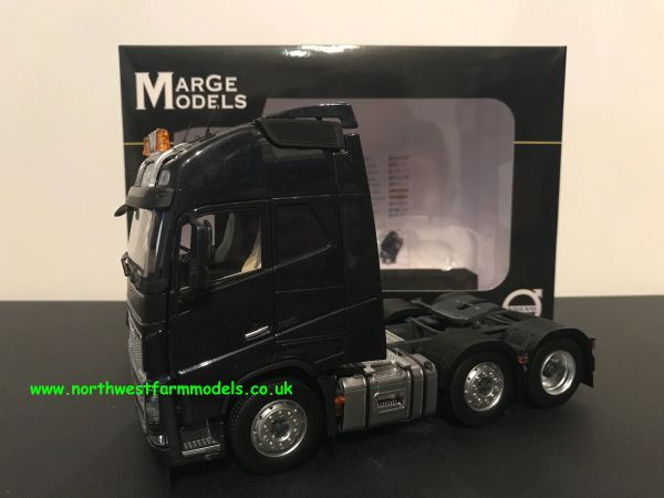 MARGE MODELS 1:32 SCALE VOLVO FH 16 6X2 BLACK