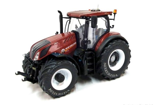 """MARGE MODELS 1/32 SCALE NEW HOLLAND T7.315 """"TERRACOTTA"""" VREDESTEIN COLLECTORS EDITION"""