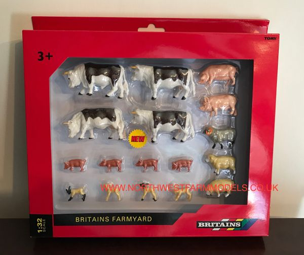 43096A1 BRITAINS FARM 1/32 SCALE MIXED ANIMAL PACK
