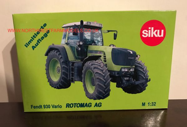SIKU 1/32 SCALE FENDT 930 VARIO ROTOMAG AG LIMITED EDITION