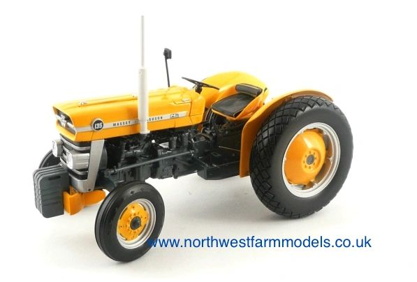 UH2822 Universal Hobbies 1/16 Scale Massey Ferguson 135 Industrial (Yellow) Limited Edition