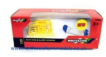 42890 Britains Farm Buck Rake and Slurry Scraper
