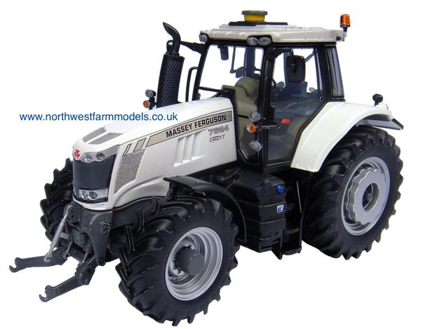 UH4857 Universal Hobbies 1/32 Massey Ferguson 7624 White (Limited Edition)(Dealer Box) 1000 pieces