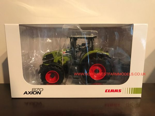 ROS 1/32 SCALE CLAAS AXION 870 MODEL TRACTOR (DEALER BOX) **NEW**