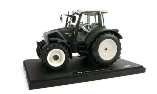 """MARGE MODELS 1:32 SCALE LINDNER GEOTRAC 114 """"MATTE GREEN"""" LIMITED EDITON"""