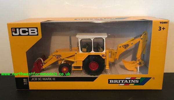 BRITAINS 1:32 SCALE JCB 3C MARK III(3) BACKHOE