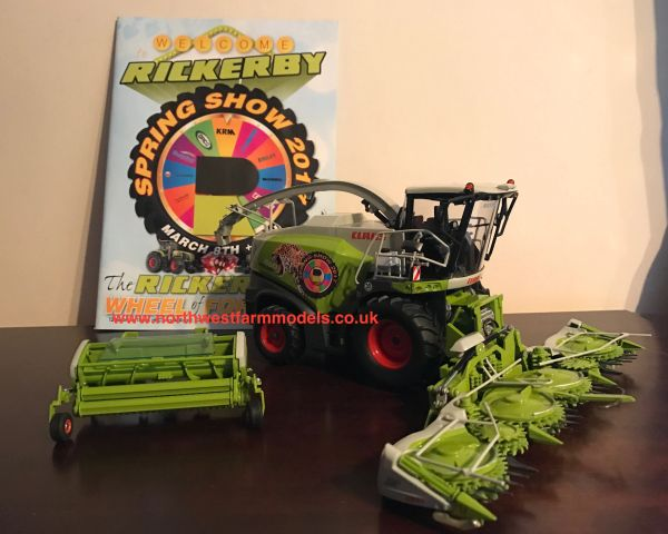 """WIKING 1/32 SCALE CLAAS JAGUAR 860 """"RICKERBY SPRING SHOW 2017"""" LIMITED EDITION"""