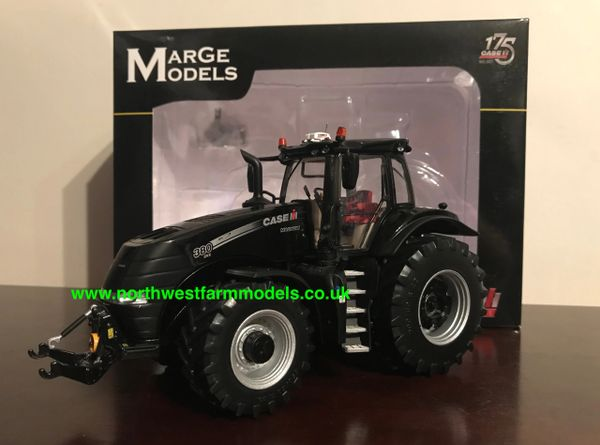 """MARGE MODELS 1:32 SCALE CASE IH MAGNUM 380 CVX """"BLACK"""" LIMITED EDITION TRACTOR OF THE YEAR 2017"""